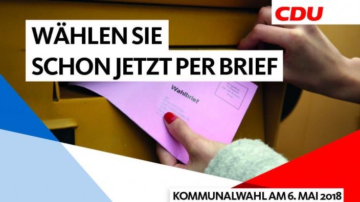 Briefwahl 2018