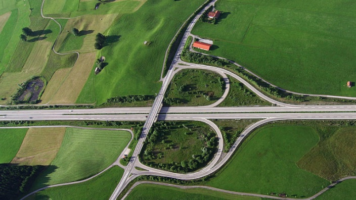 Autobahnanschluss