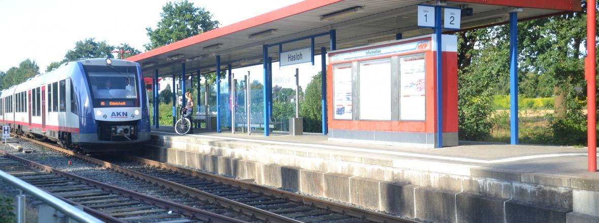 Hasloh - Bahnhof / AKN