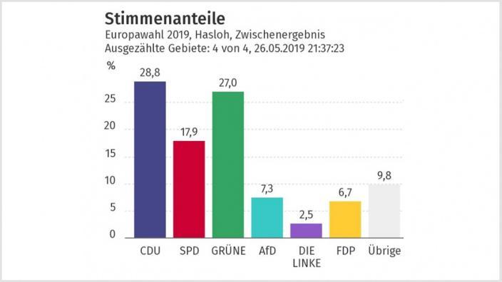 Hasloh Europawahl 2019